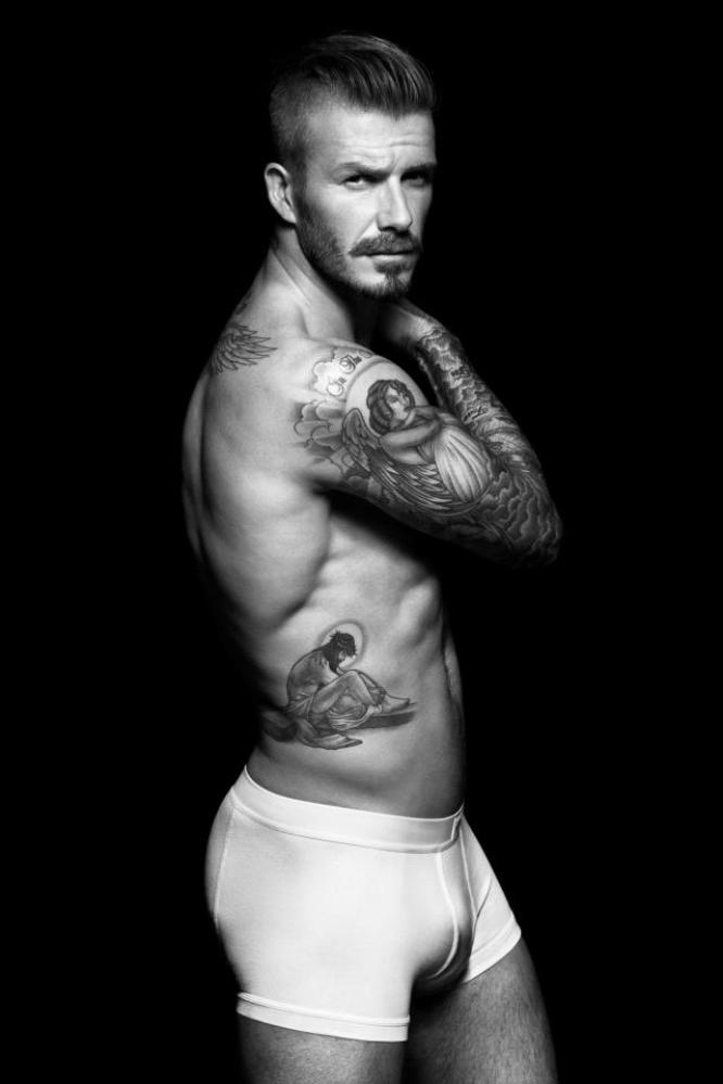 Attractive David Becham Underwear Naked Pictures