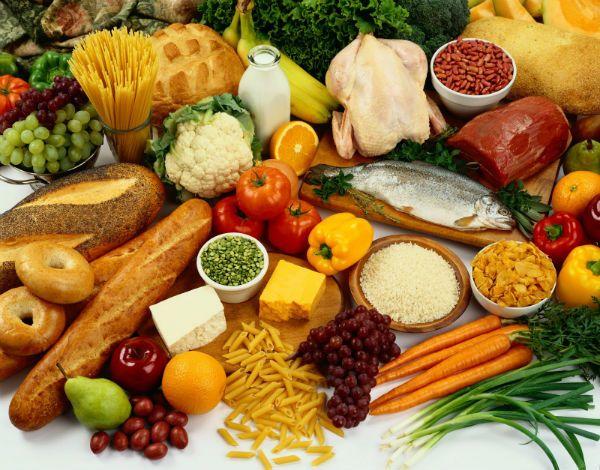 λίστα υγιεινών τροφών
