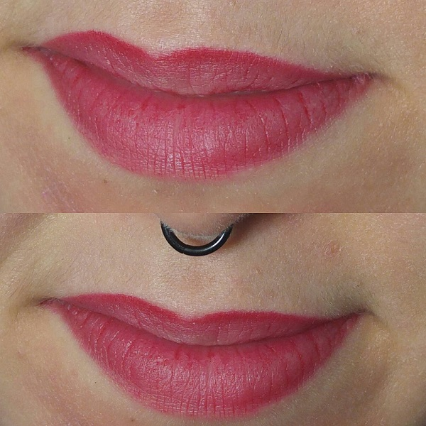 Lipstick & lipliner Max & More Dark Red