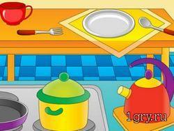 играть онлайн посуда