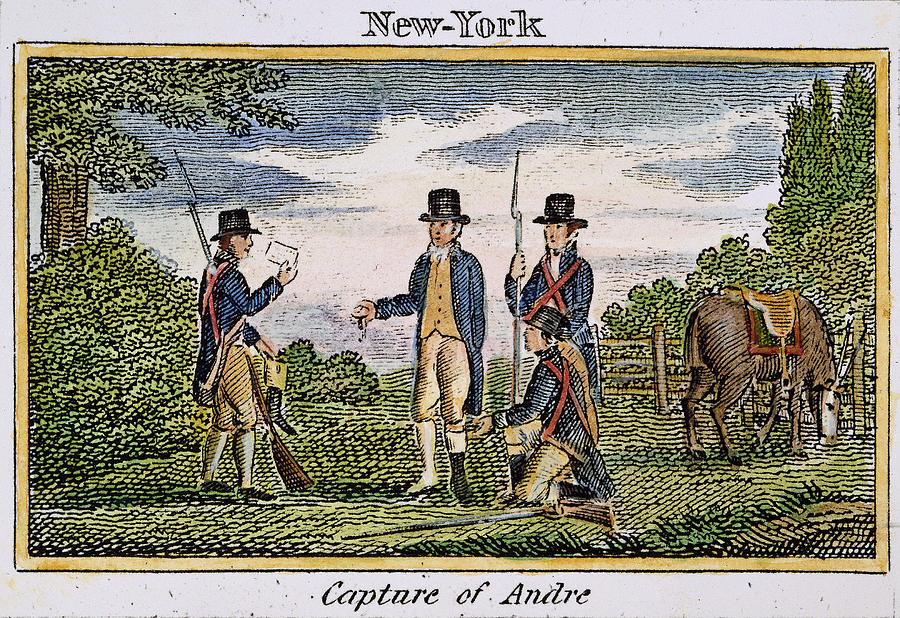 a biography of major john andre a british spymaster The philadelphia campaign of the american revolotionary war john andre esqr late adjutant general of the british forces in america from walker's hibernian magazine, 1780 loc id: cph.