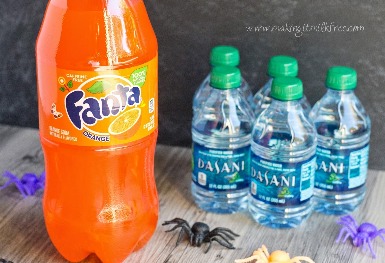 #halloweensnacks #dasani #fanta