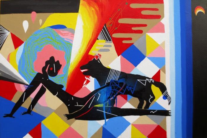 Zeh Palito, street art
