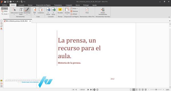 Nitro Pro Enterprise Versión 12.9 Full Español