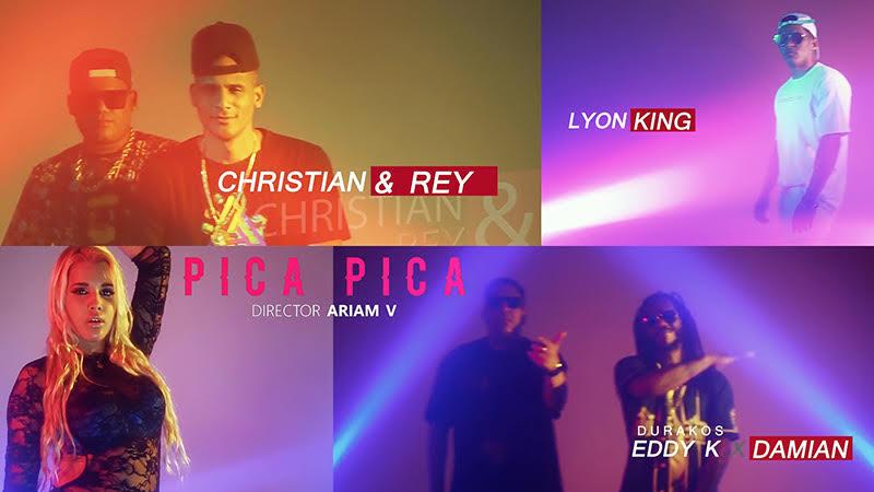 Christian & Rey - Lyon King - Eddy K - Damián - ¨Pica Pica¨ - Videoclip - Dirección: Ariam V. Portal del Vídeo Clip Cubano