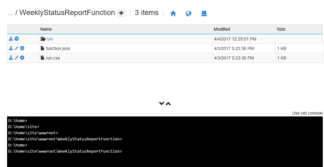 SharePoint Rapt: Using Azure Functions to generate a report