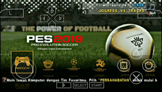 Game PPSSPP PES JOGRESS V4.1 Mod Gojek Liga 1 Indonesia For Android