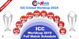 ICC Cricket World Cup 2019 Schedule, Preview