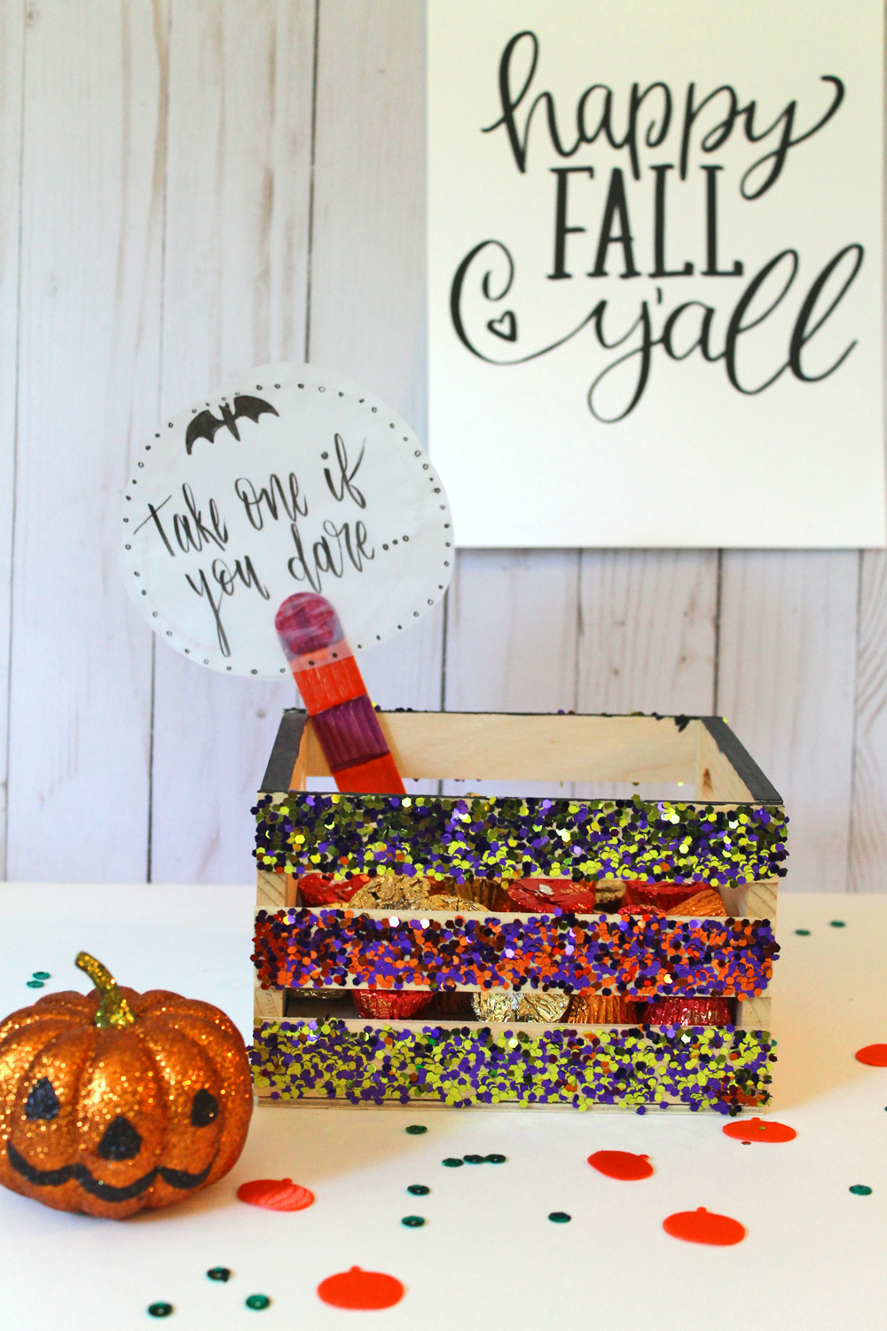 5 Step DIY: Trick or Treat Crate