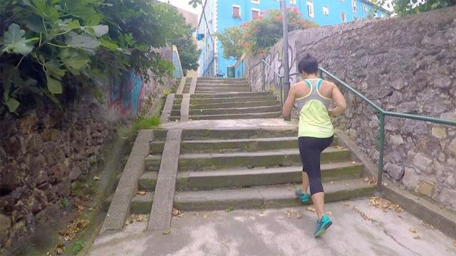 Alone runner