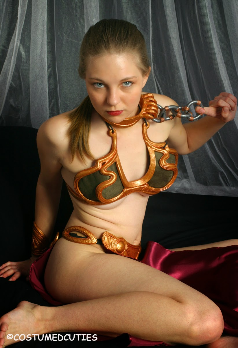 Amateur slave leia star wars cosplay blowjob amp cim 6