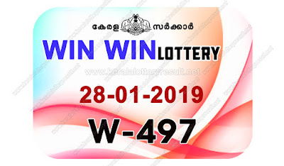 KeralaLotteryResult.net, kerala lottery kl result, yesterday lottery results, lotteries results, keralalotteries, kerala lottery, keralalotteryresult, kerala lottery result, kerala lottery result live, kerala lottery today, kerala lottery result today, kerala lottery results today, today kerala lottery result, Win Win lottery results, kerala lottery result today Win Win, Win Win lottery result, kerala lottery result Win Win today, kerala lottery Win Win today result, Win Win kerala lottery result, live Win Win lottery W-497, kerala lottery result 28.01.2019 Win Win W 497 28 January 2019 result, 28 01 2019, kerala lottery result 28-01-2019, Win Win lottery W 497 results 28-01-2019, 28/01/2019 kerala lottery today result Win Win, 28/01/2019 Win Win lottery W-497, Win Win 28.01.2019, 28.01.2019 lottery results, kerala lottery result January 28 2019, kerala lottery results 28th January 2019, 28.01.2019 week W-497 lottery result, 28.01.2019 Win Win W-497 Lottery Result, 28-01-2019 kerala lottery results, 28-01-2019 kerala state lottery result, 28-01-2019 W-497, Kerala Win Win Lottery Result 28/01/2019