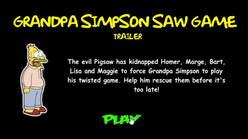 Android And Ios Games For You Abuelo Simpson Saw Game