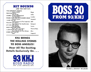 KHJ Boss 30 No. 12 - Johnny Williams (Blue Cover)