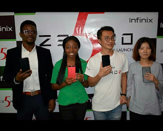 Infinix Zero 5 Officially Launched In Nigeria