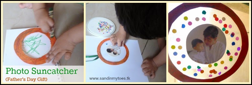 How to make a Photo Suncatcher - Handmade Gift Idea