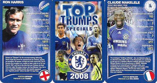 PANINI UEFA CHAMPIONS LEAGUE 2007-08 #100-CHELSEA /& FRANCE-FLORENT MALOUDA