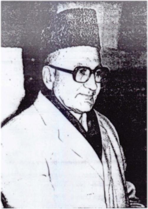 Tribute to Prof. Dr. Allamah Nasir al-Din Nasir Hunzai