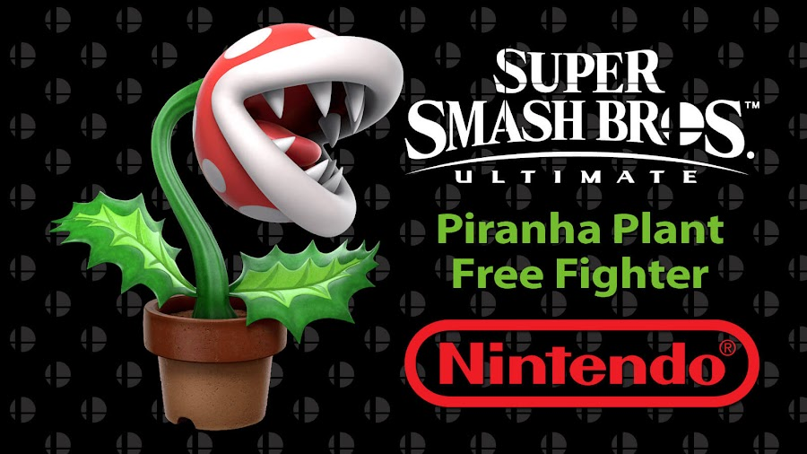 super smash bros ultimate free piranha plant fighter