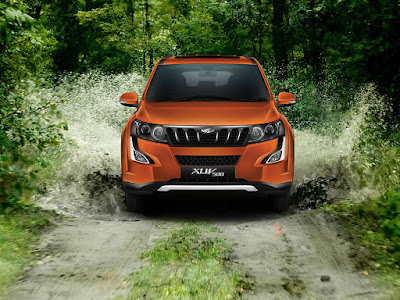 New Mahindra XUV 500 Front look