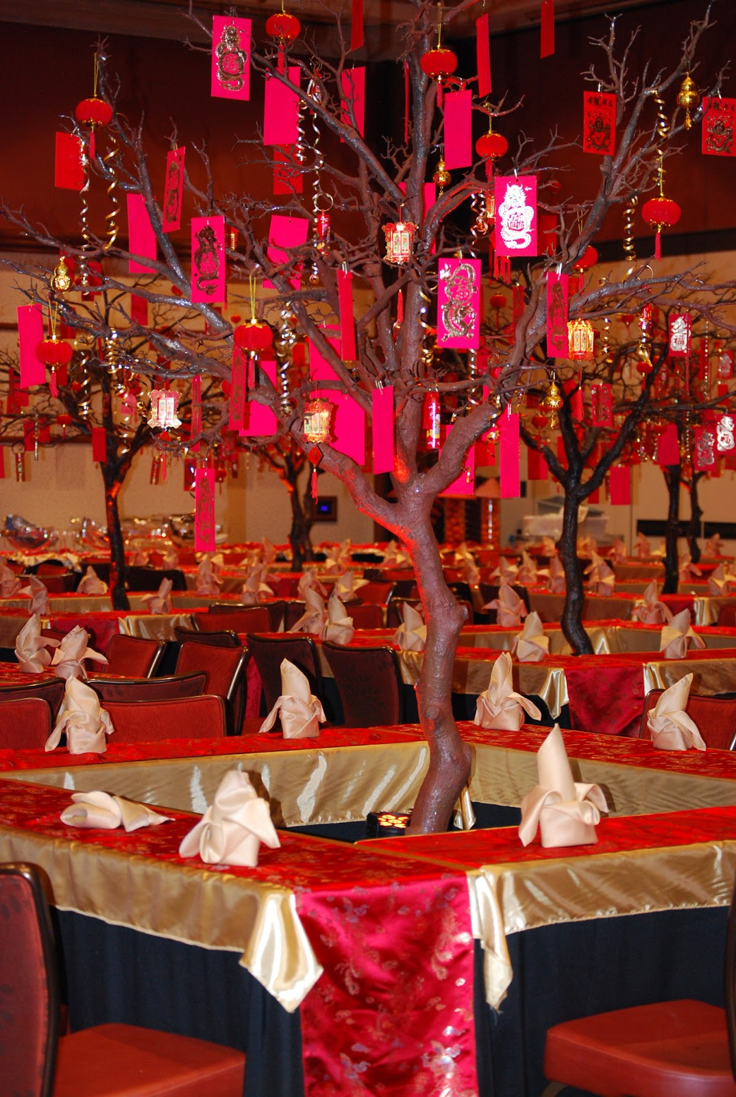 studio b event designs  chinese new years