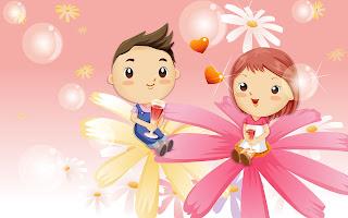 Pasangan romantis kartun terbaru