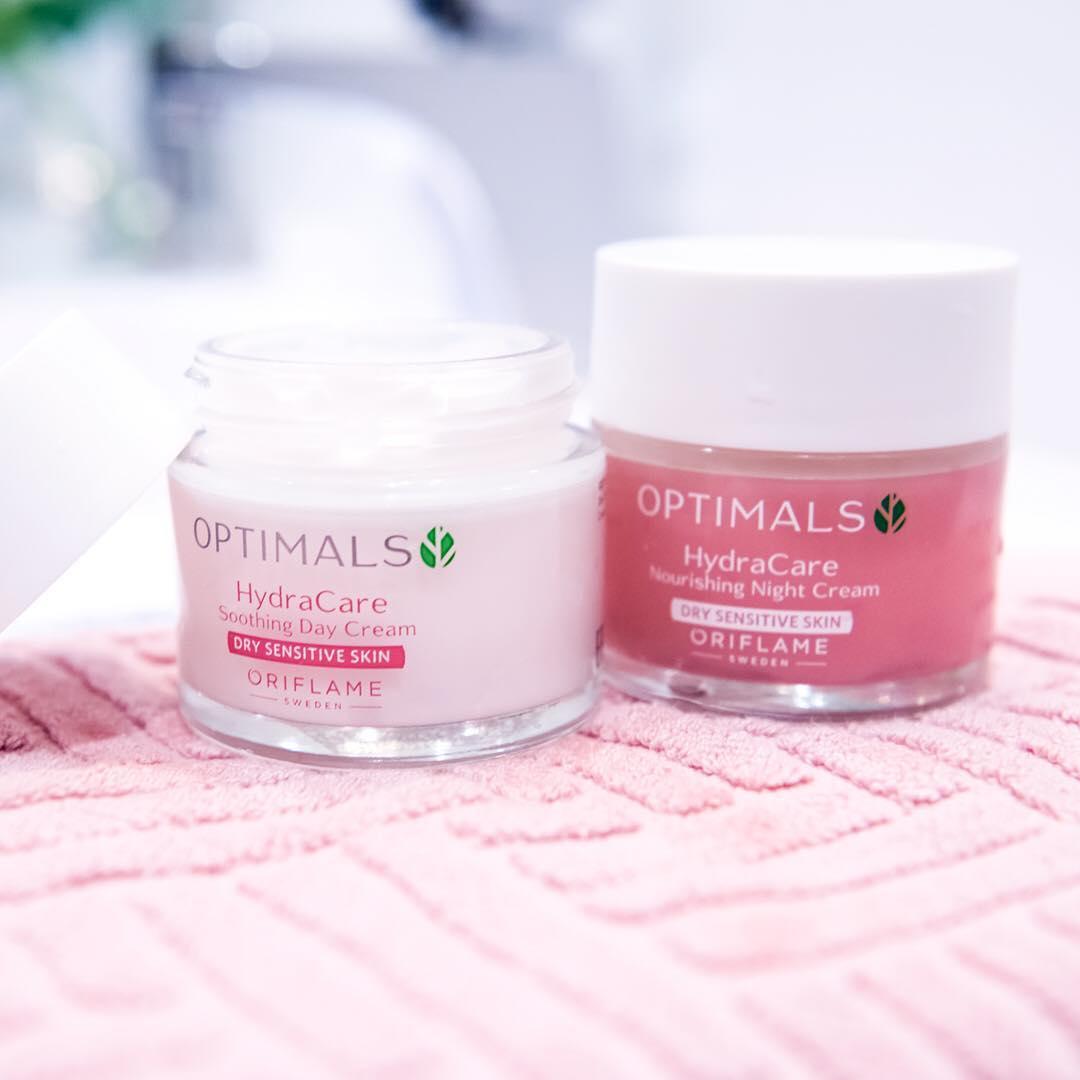 Optimals Hydra para pele seca/sensível