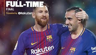 Barcelona Menang 2-1 atas Sevilla - Highlights La Liga