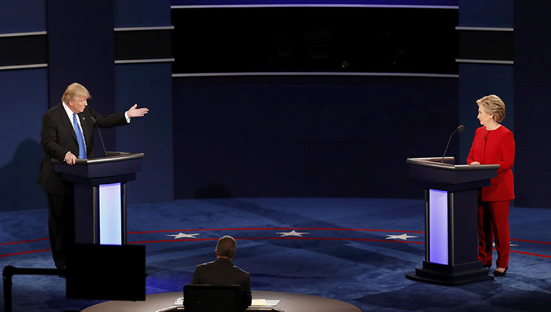 Debate Clinton-Trump: así fue la polémica en EE.UU. [VIDEO]