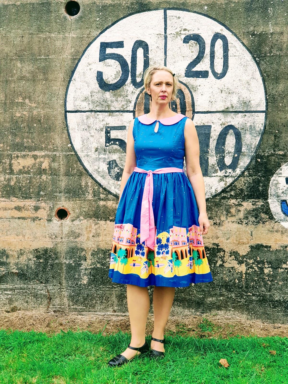 Venice Beach Swing Dress: Over 40 Style: