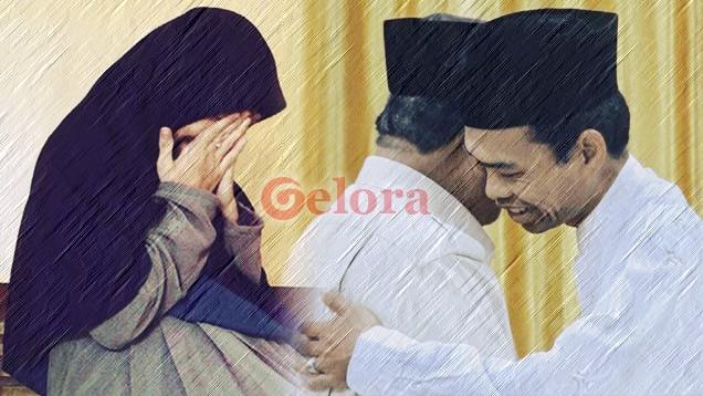 Tak Kuasa Menahan Tangis, Menyaksikan Ustadz Abdul Somad dengan Prabowo