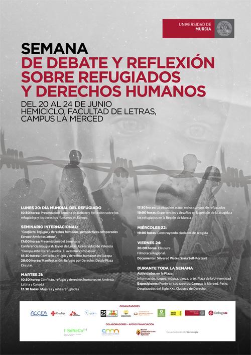 Semana de debate y reflexión sobre los refugiados y los derechos humanos en Europa.