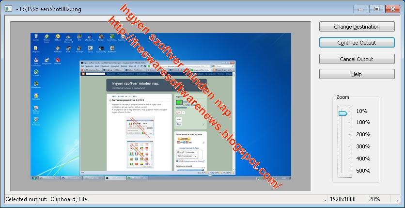 Gadwin PrintScreen 585 Gadwin PrintScreen is an easy to use