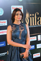 Shriya Saran in Beautiful Transparent Dark Gown IIFA Utsavam Awards 2017 008.JPG