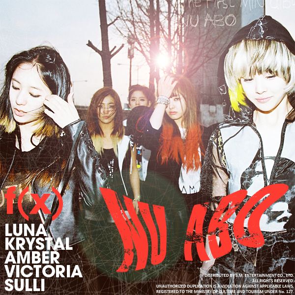 kpop lover: [Mini Album] f(x) – NU ABO