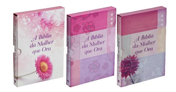 """A """"Bíblia da Mulher que Ora"""". É fantástica, leitura fácil e tópicos explicativos"""