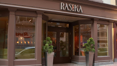 rasika restaurant in usa dc