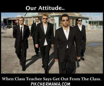 funny behaving like a james bond when teacher says get Out from class Class
