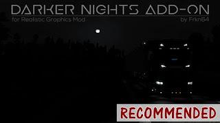 ets2 mods, euro truck simulator 2 mods, ets2 graphic mods, frkn64, ets 2 realistic graphics mod, ets2 realistic mods, recommendedmodsets2, ets 2 darker nights