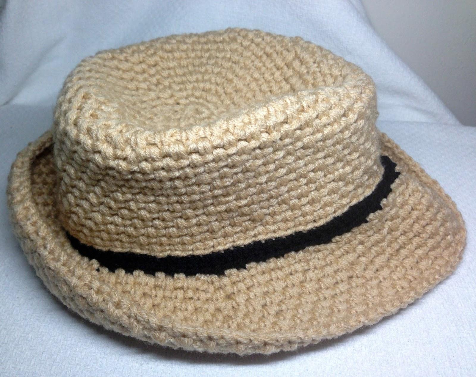 Crochet a Fedora Hat - iKNITS 68fb7b66cdd