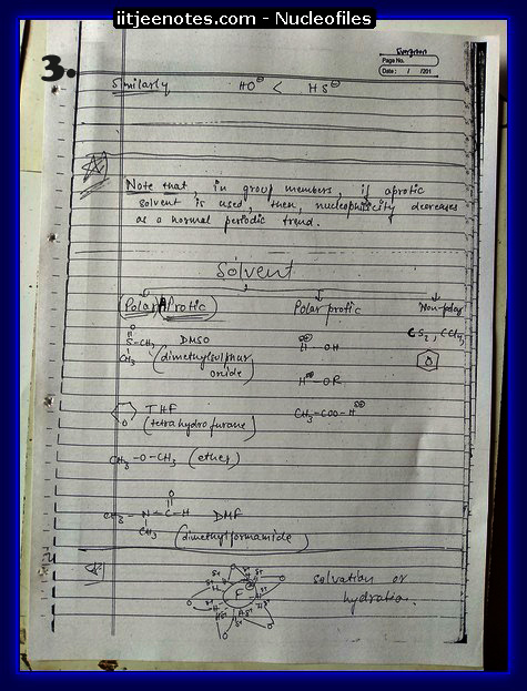 Nucleofiles Notes3