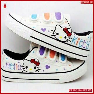 DFAN3278S41 Sepatu Dw06 Poxing Hello Wanita Kity Sneakers BMGShop