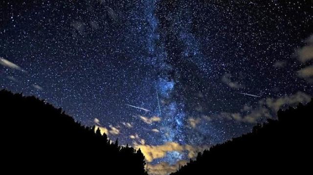 Puncak Hujan Meteor Orinoid warnai Langit
