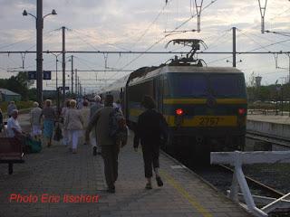 gare, Knokke, train