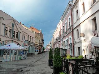 Ужгород. Пешеходная улица Корзо