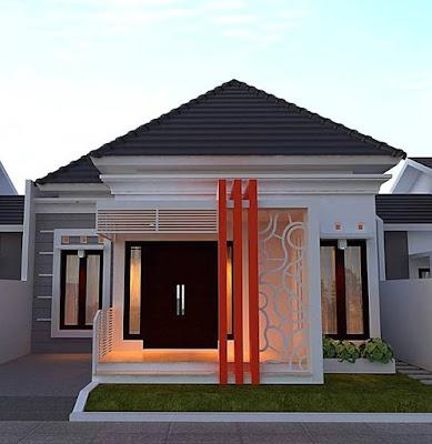 Contoh Denah Rumah Kampung  kampung pedesaan model rumah minimalis sederhana