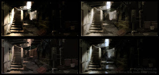 Lighting Variants & Moods for Favela
