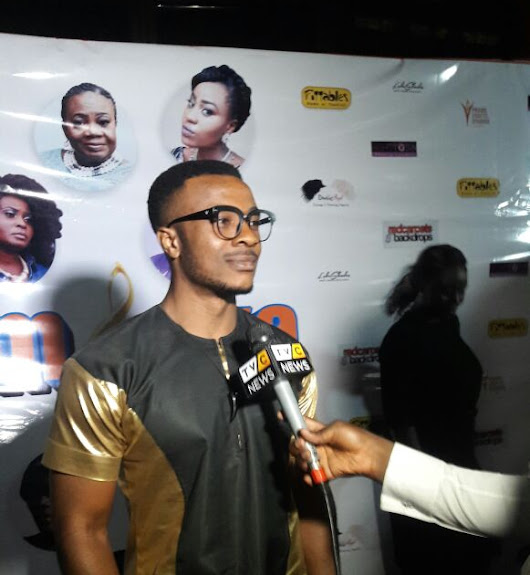 NOLLYWOOD ACTS, AARON SUNDAY, RONKE OJO @ THE PREMIERE OF KUMBAYA IN LAGOS