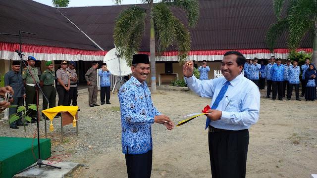 Hardikda di Aceh Jaya, Tiga Orang Guru dan Dua Pelajar Terima Penghargaan