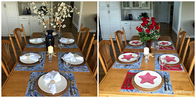 Summer Table Settings - 2 ways